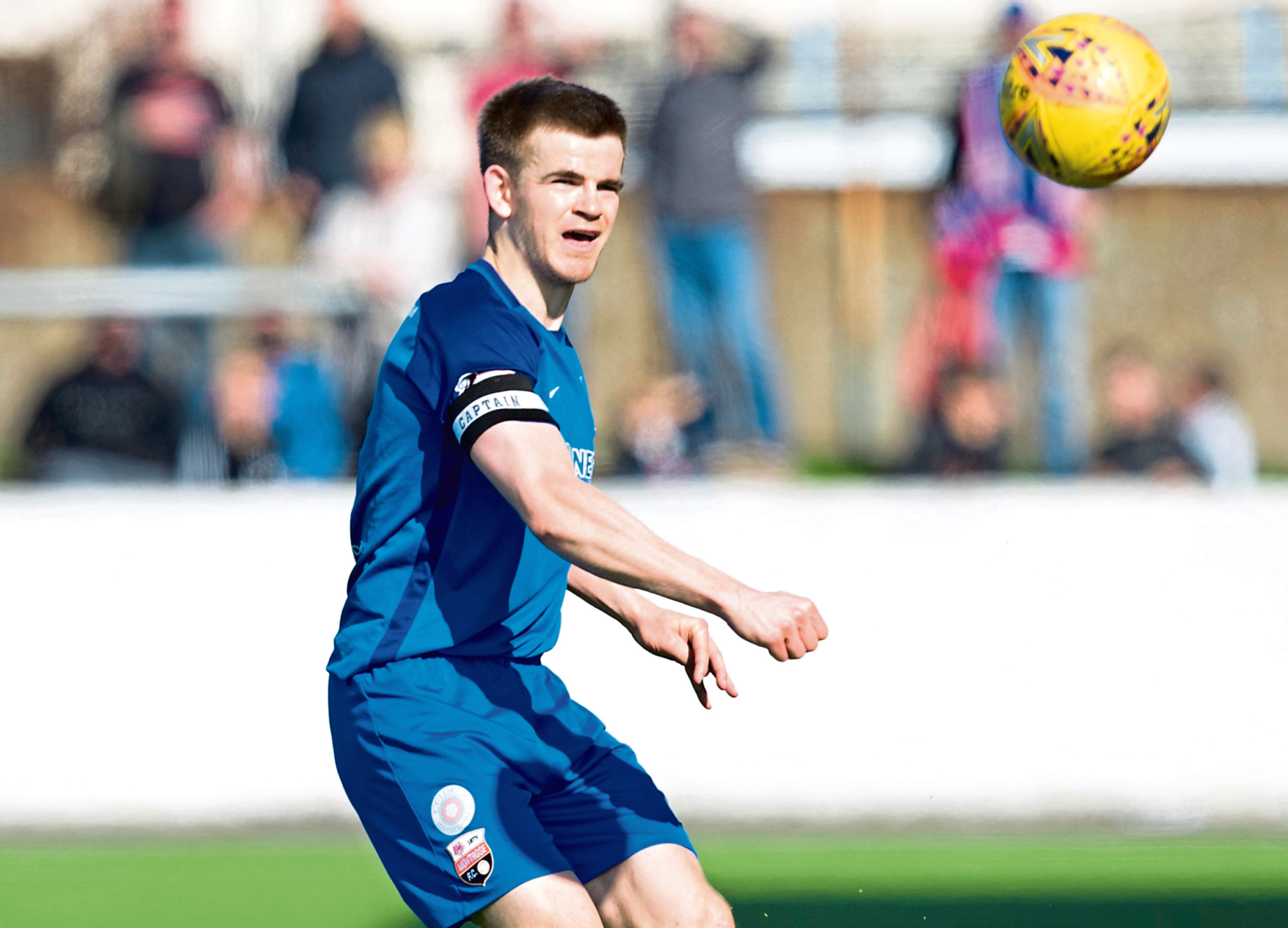 Montrose player Jamie Redman.