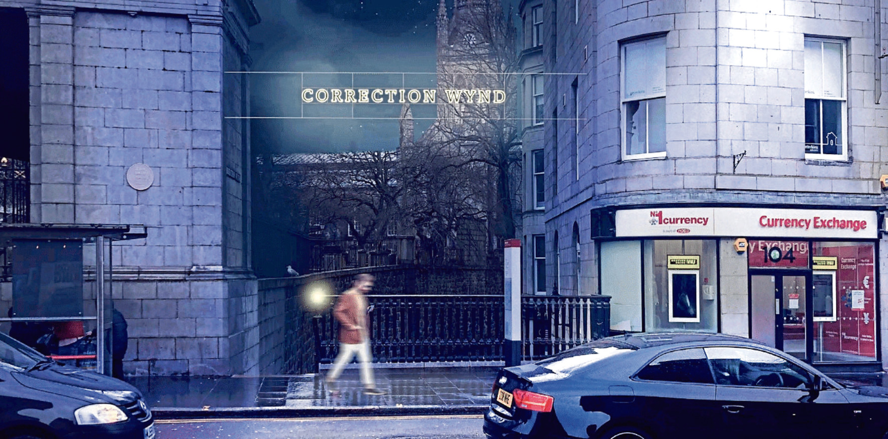 An artist impression of how Correction Wynd could look