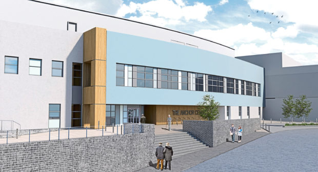 An artist impression of the new Anchor Centre