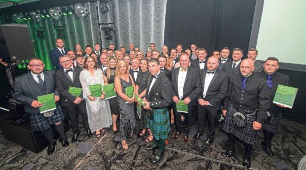 Trades Awards 2019 at Ardoe House Hotel.