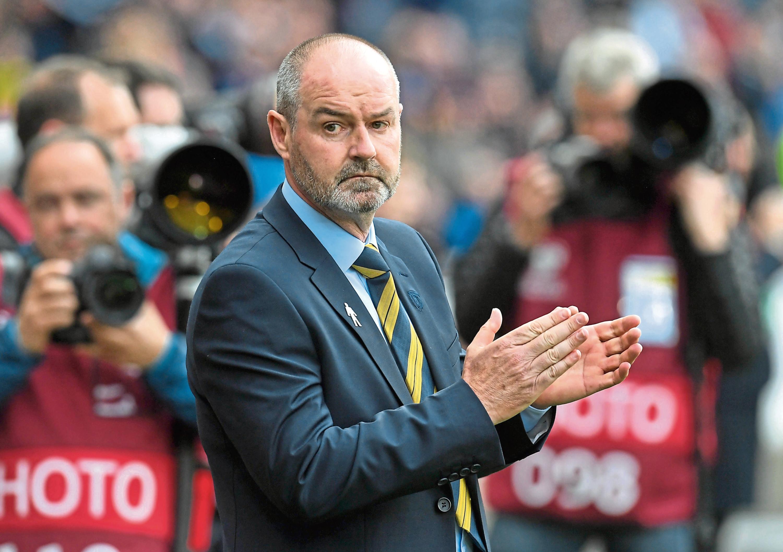 New Scotland manager Steve Clarke.