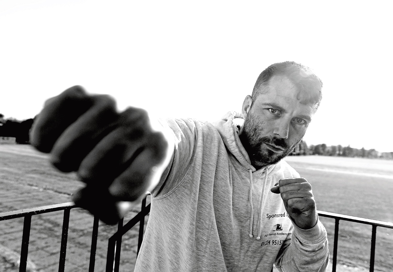 Lee McAllister. Picture by Scott Baxter