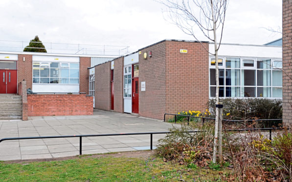 "Dyce Primary and Nursery received a ""weak"" rating in improvements in performance"