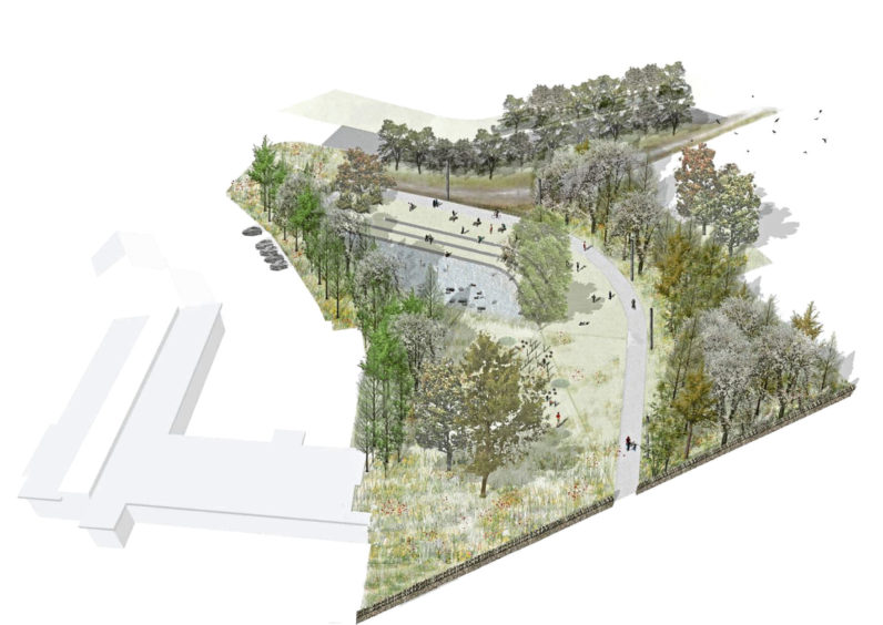 An artist's impression of the plan for Foresterhill campus