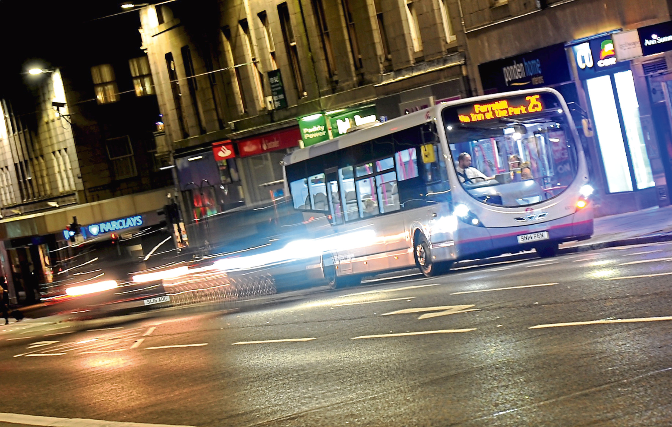 First Aberdeen has introduced a new contactless payment method on its buses