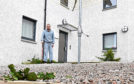 Peter Leishman is looking for compensation from Langstane Housing Association