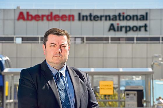 Aberdeen International Airport managing director Steve Szalay