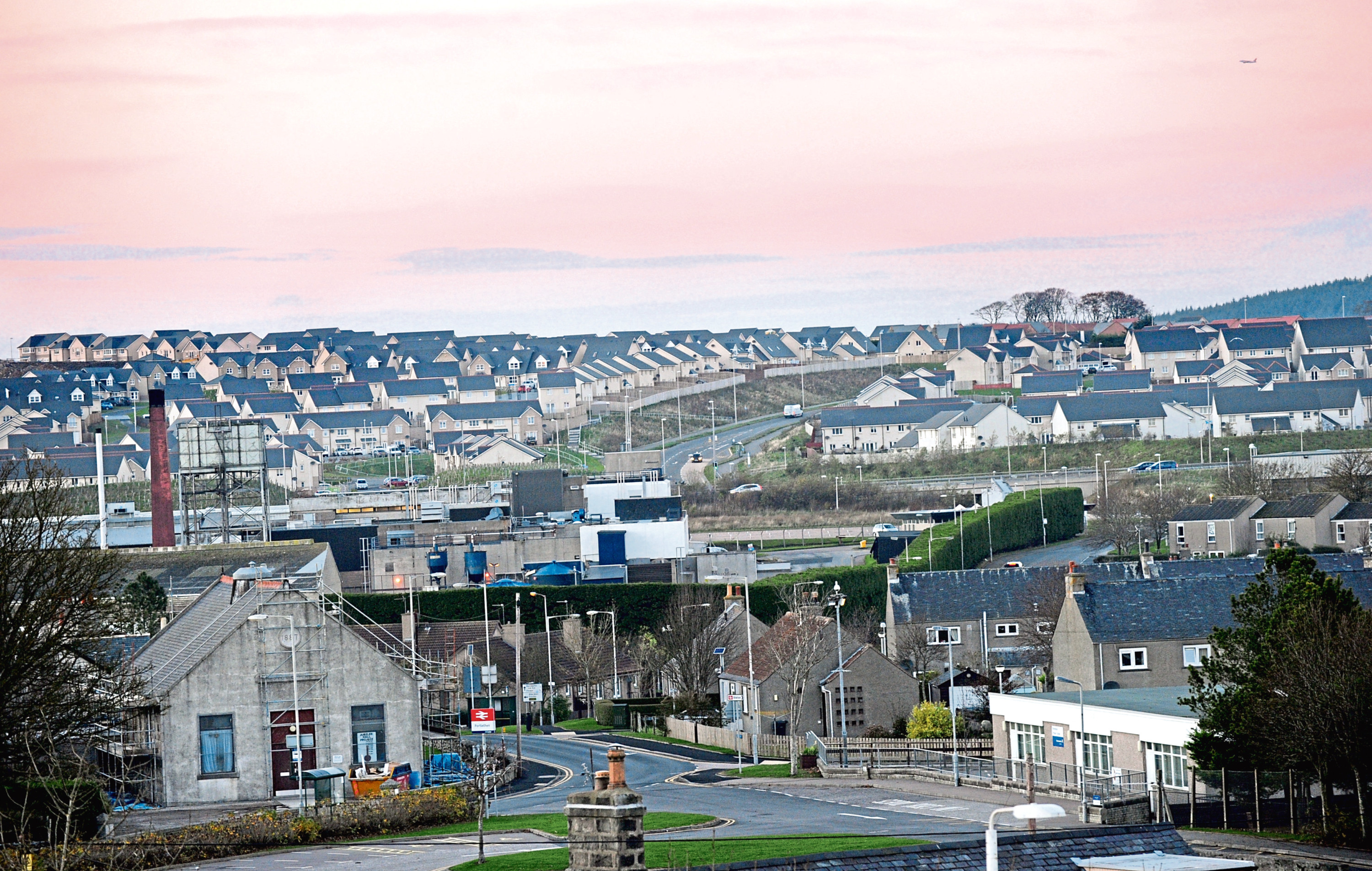Residents in Portlethen have been plagued by the problem for years
