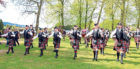 Pictures of the Portlethen and District Pipe Band at competitions throughout the season at Grade two.   It is the first time the band has played at such a high level