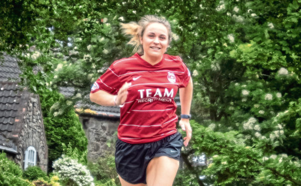 The loyal Dons fan hits the road in training for the simply Health 10K