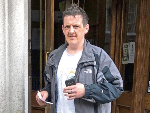 Alexander Watt appeared at Aberdeen Sheriff Court