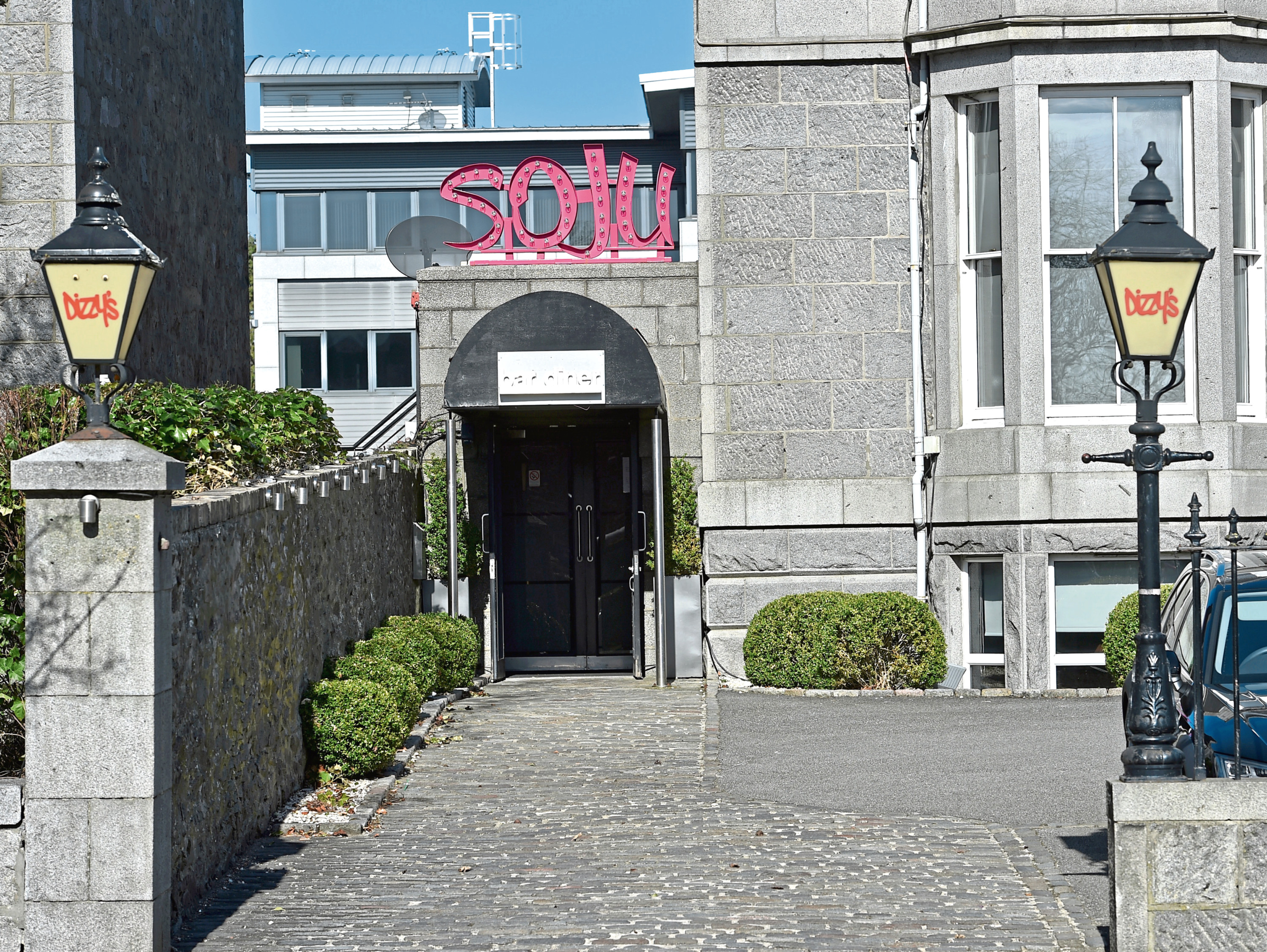 Soju Bar and Diner, on Carden Place, Aberdeen
