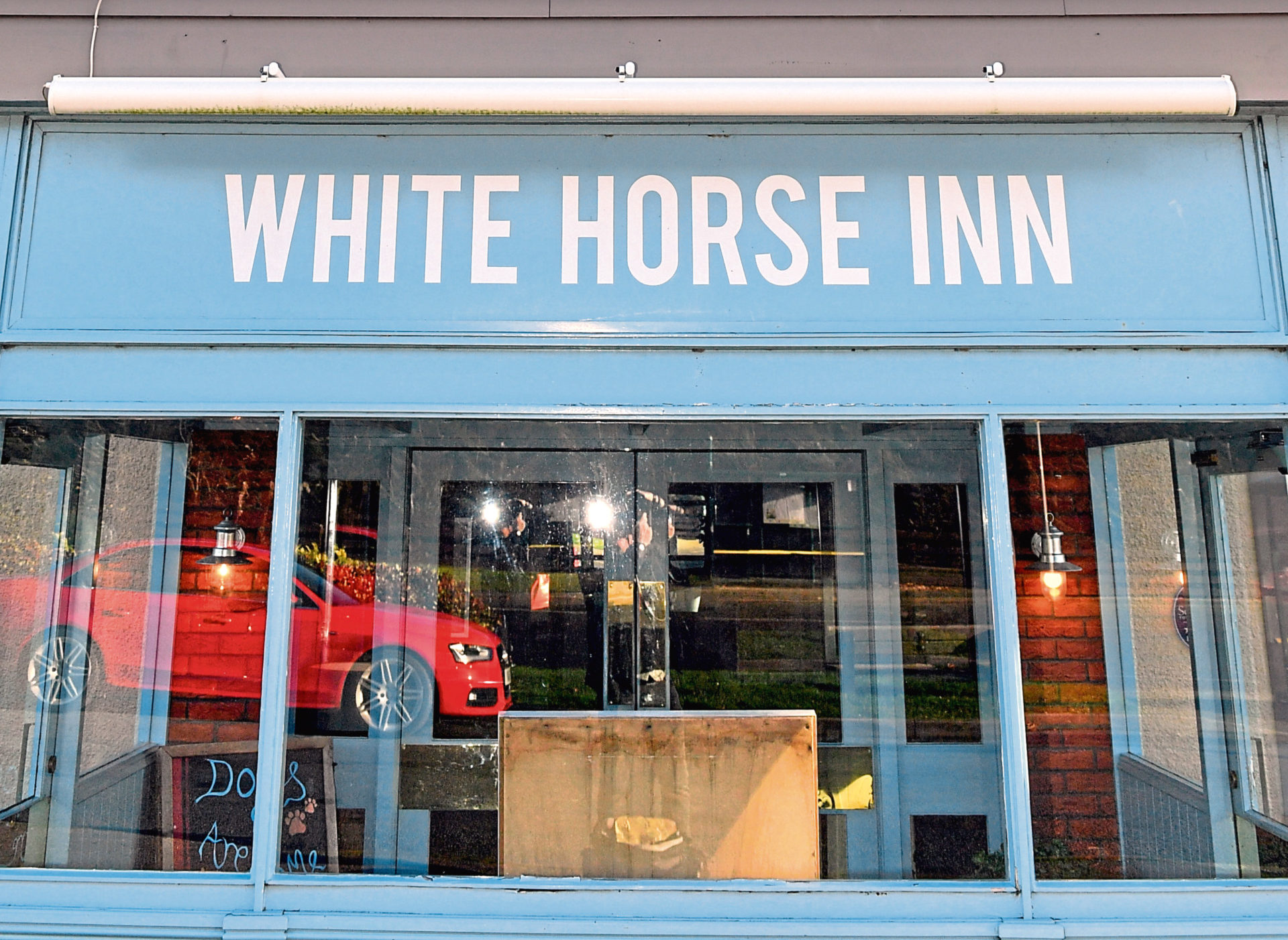 The White Horse Inn has closed its doors