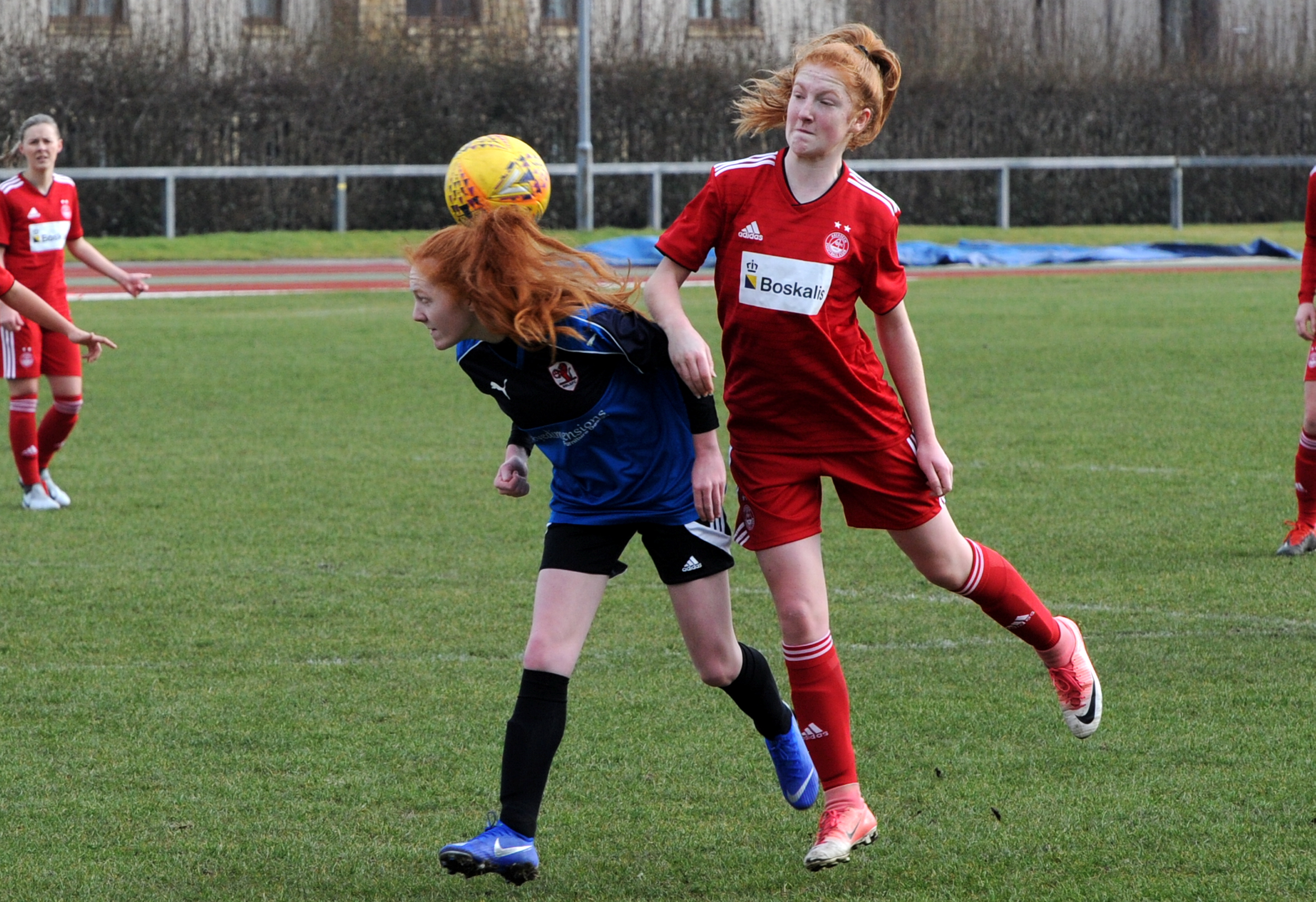 Eilidh Shore, right. Picture by Kenny Elrick