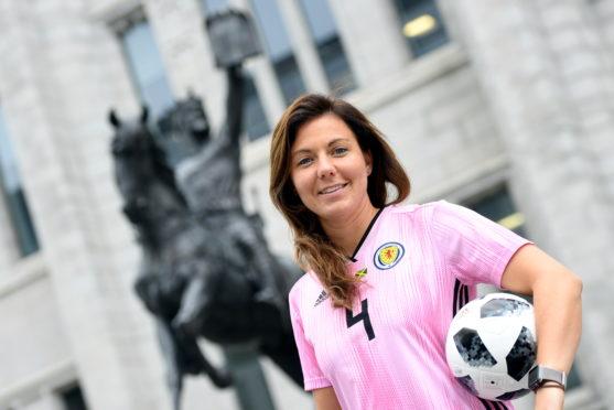 Scotland captain Rachel Corsie.             Picture by Kami Thomson