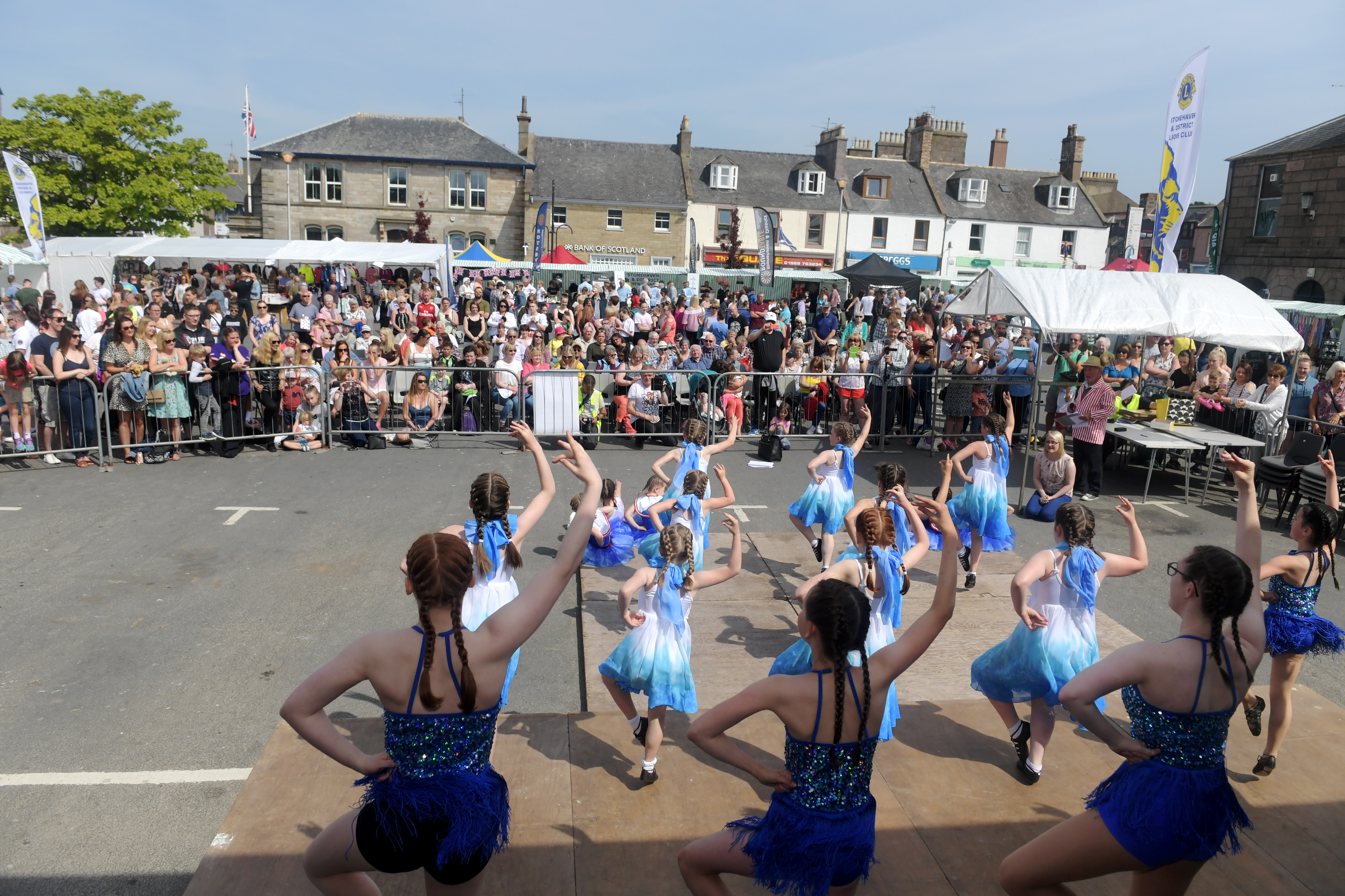 The annual Feein' Market attracts thousands to the town.