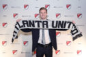 Jon Gallagher when he signed for Atlanta.
