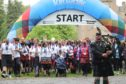 Last year's Kiltwalk