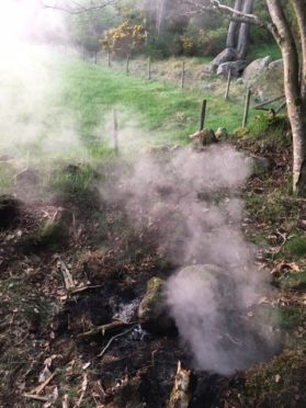 Two unattended fires were discovered over the weekend