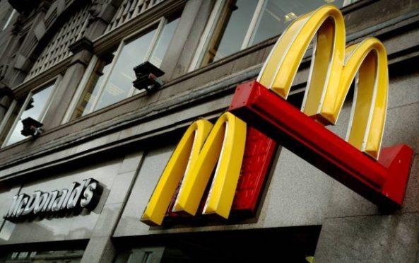 McDonald's on Aberdeen's Union Street
