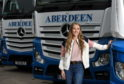 Jodie Lawson is the youngest female HGV driver in the UK.