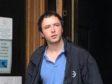 Andrew McKenzie leaving Aberdeen Sheriff Court