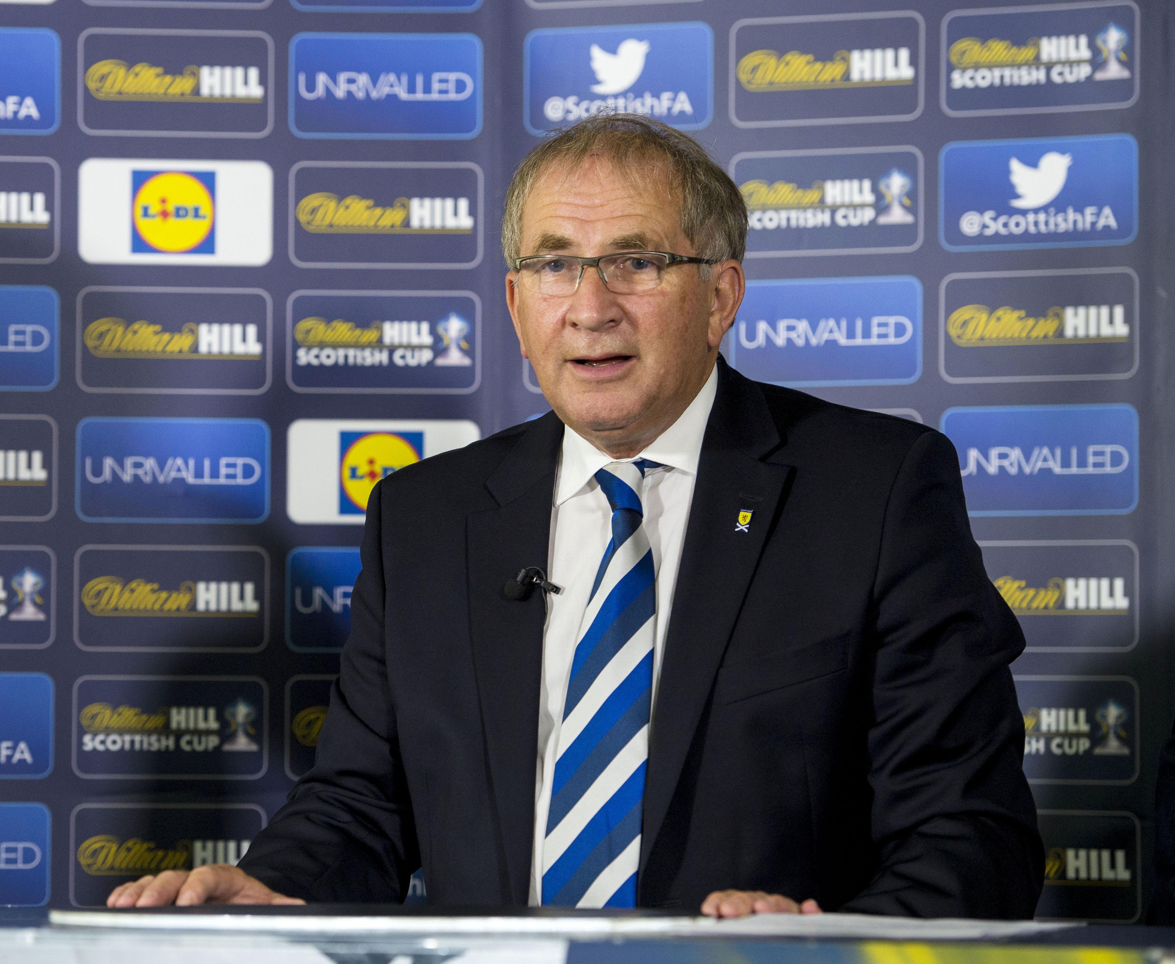 SFA President Alan McRae