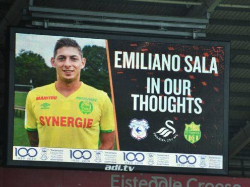 Cardiff signed Emiliano Sala from Nantes in January (Simon Galloway/PA)