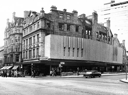 How E&M Union Street looked with a 70s facelift