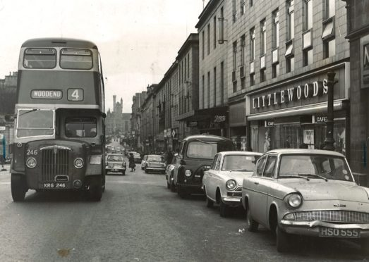 Union Street as it was in 1966