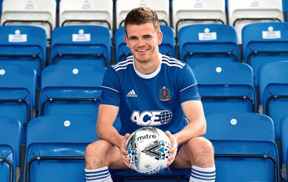 Cove midfielder Jamie Redman Picture by HEATHER FOWLIE