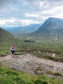 Siobhan Killingbeck at West Highland Way