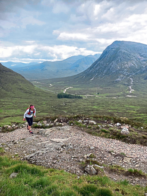 Siobhan Killingbeck at West Highland Way