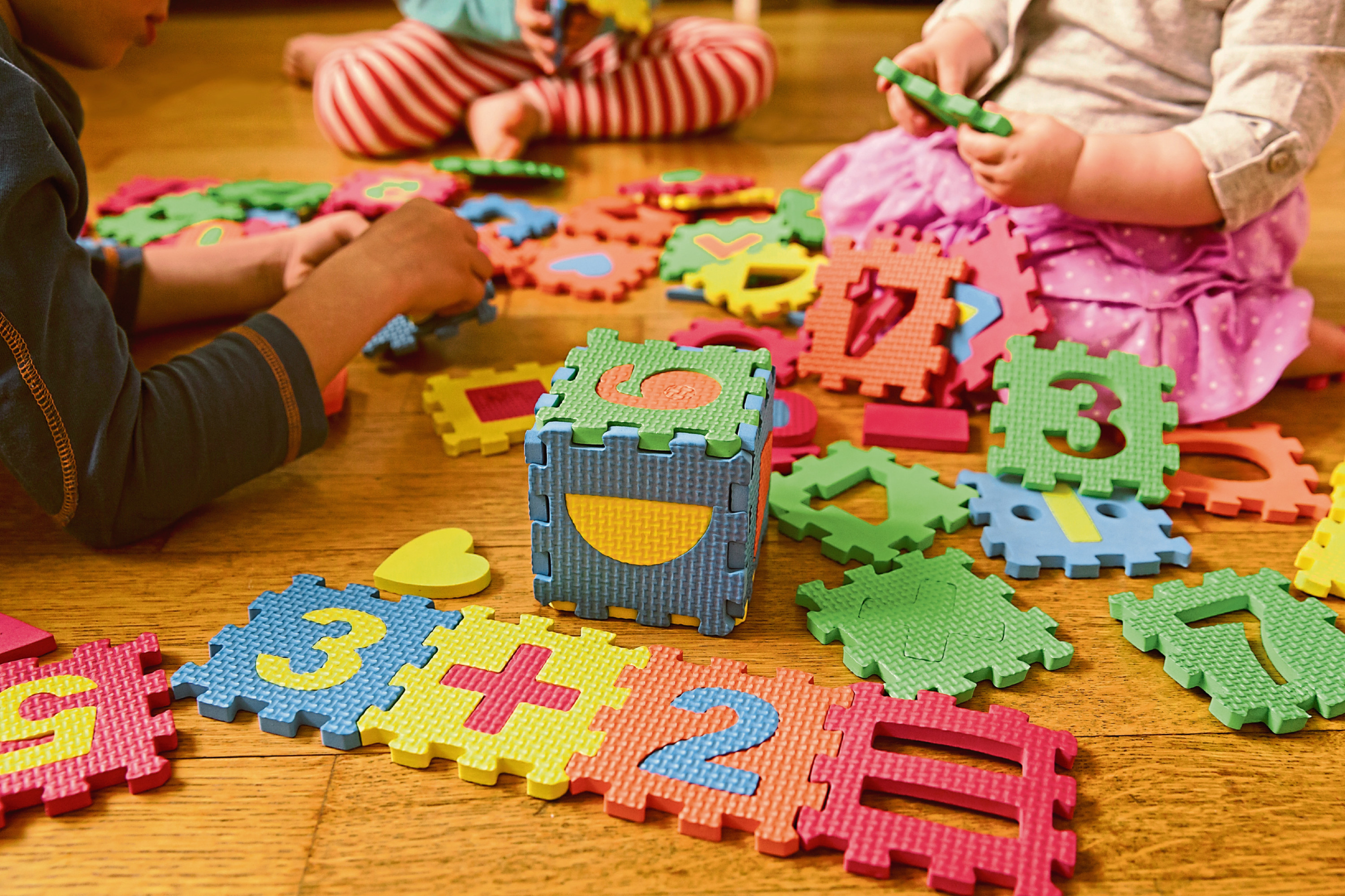 The Scottish Government is calling for more free childcare
