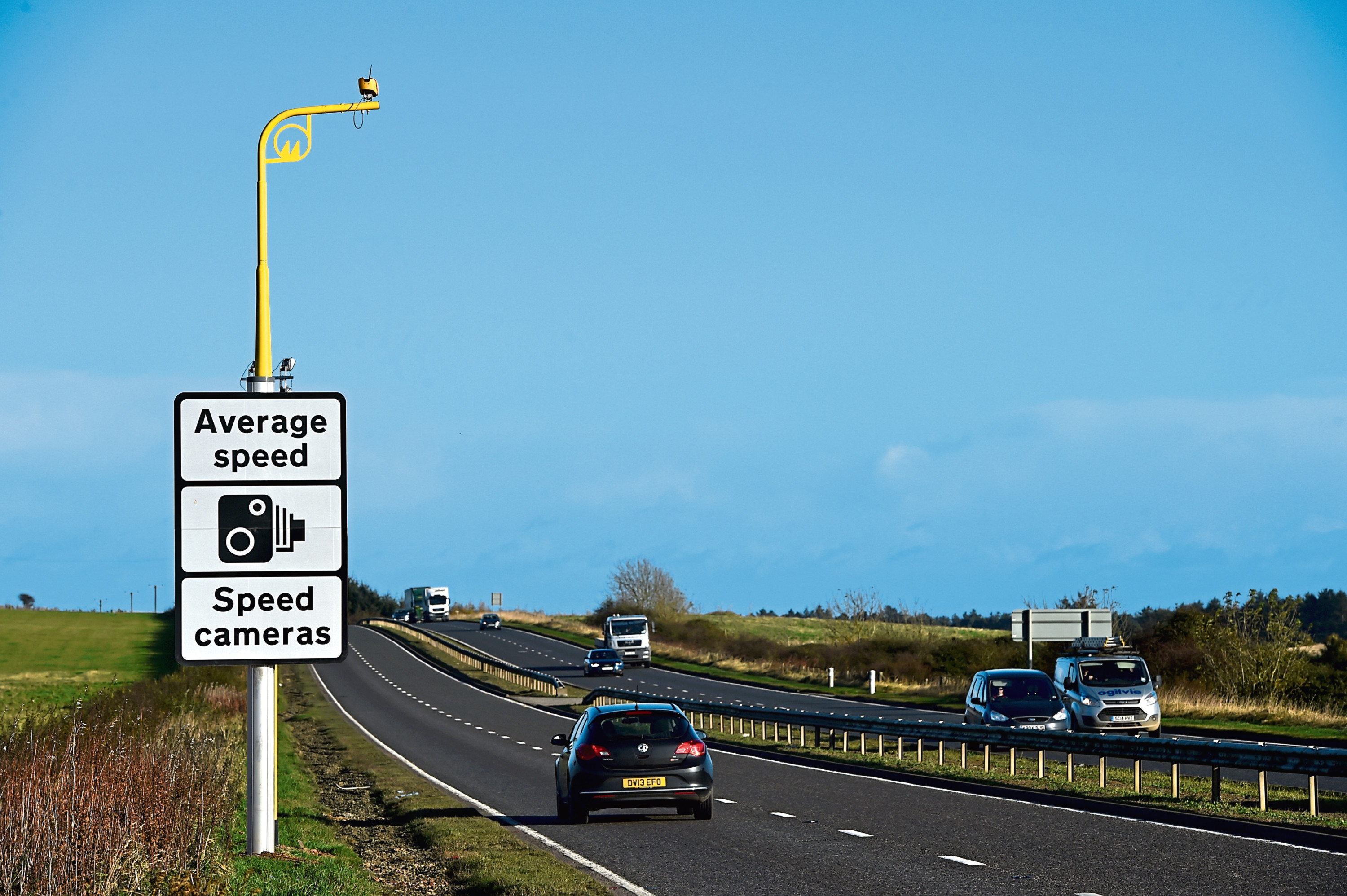 Work will be carried out on the A90