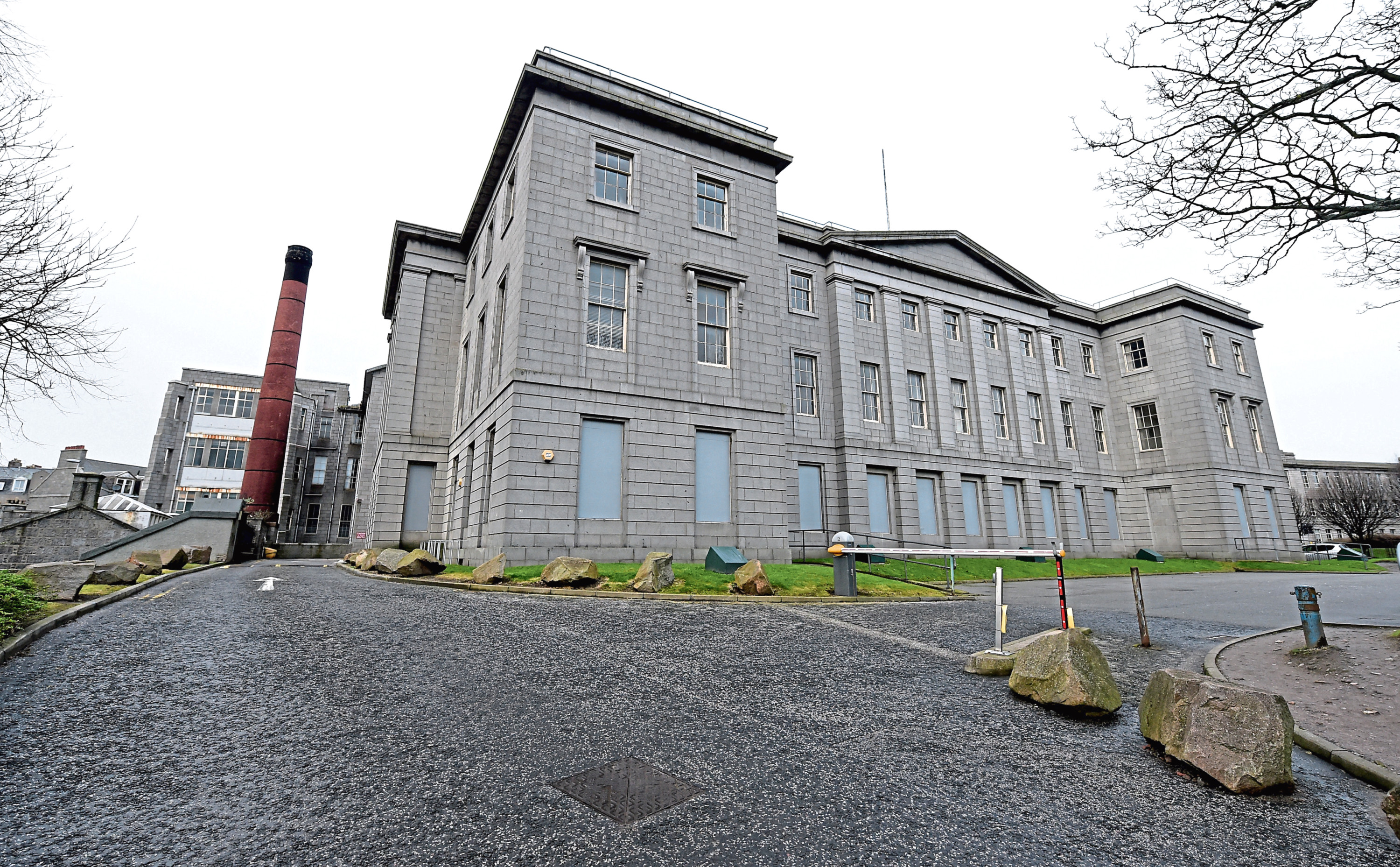 Five buildings at the former Woolmanhill Hospital are among the at-risk buildings