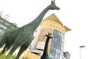 Royal Aberdeen Children's Hospital topiary giraffes and elephants return from Castle Fraser