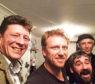 Fiddler Paul Anderson organised a variety show starring Trainspotting and Grey's Anatomy actor Kevin McKidd, centre, to raise money