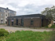 Tthe old RBS building in Dyce