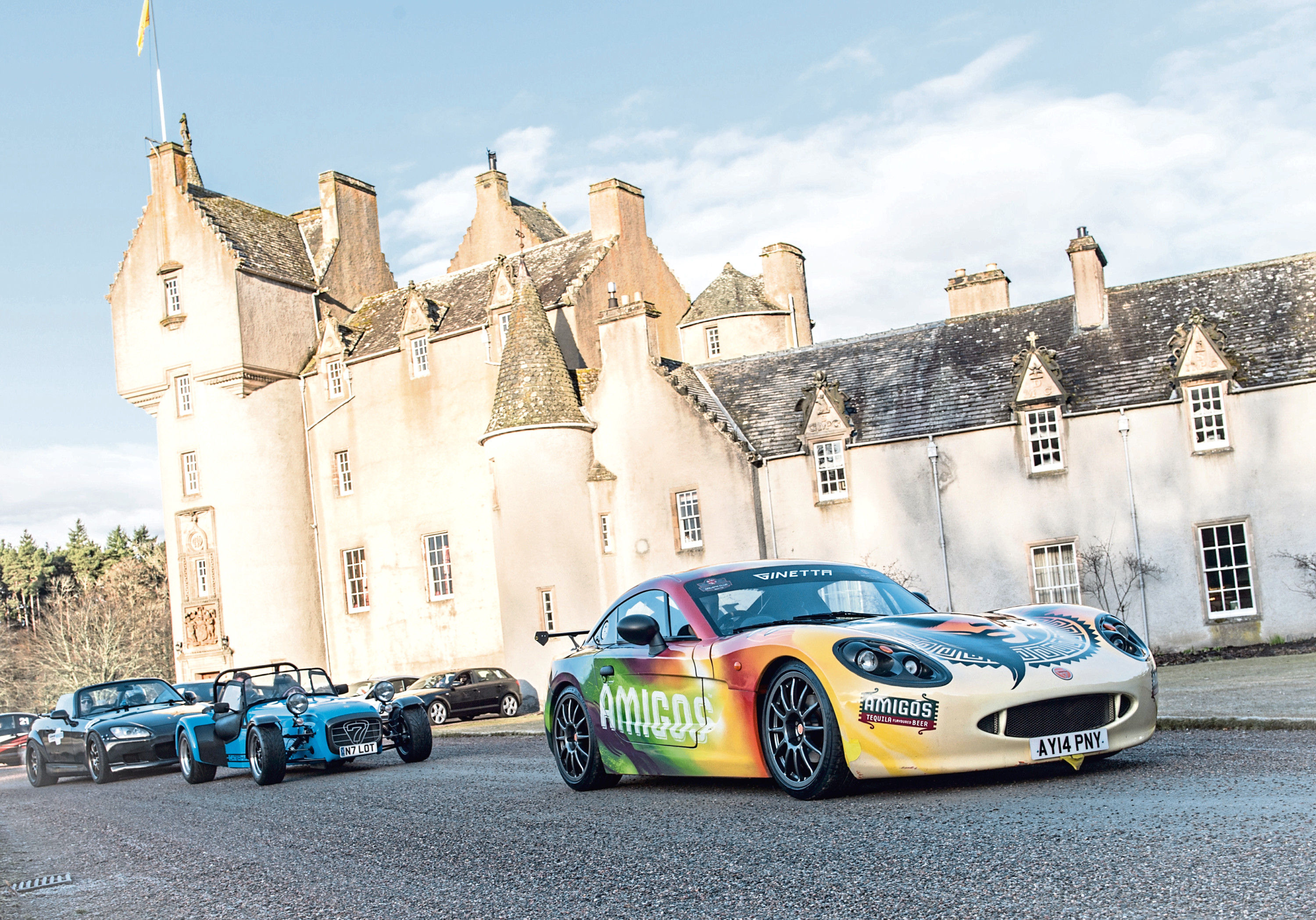 Last year's Cannonbawz run at Ballandalloch. Picture by Jason Hedges