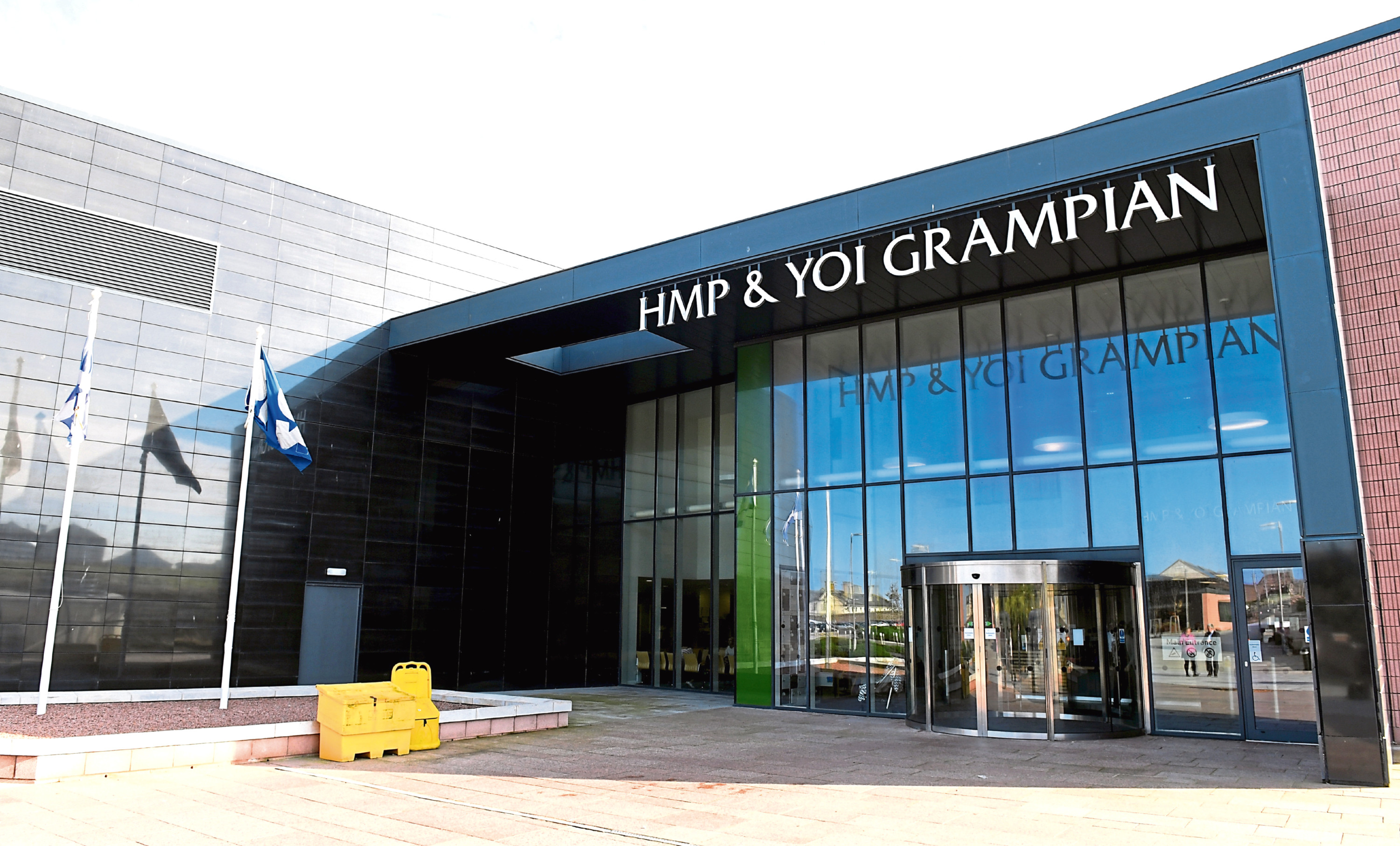 A report highlighted a serious shortage in healthcare staff at HMP and YOI Grampian as cause for concern