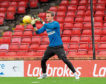 Antonio Reguero training at Pittodrie with RoPS Rovaniemi ahead of the Europa League tie with Aberdeen Picture by KATH FLANNERY