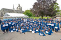 More than 200 school pupils from across the north-east took part in the ceremony