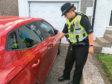 Police Scotland unlocked doors operation. Jamie Hall pics.