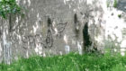 Brig O'Balgownie vandalism. Handout via David Proctor.