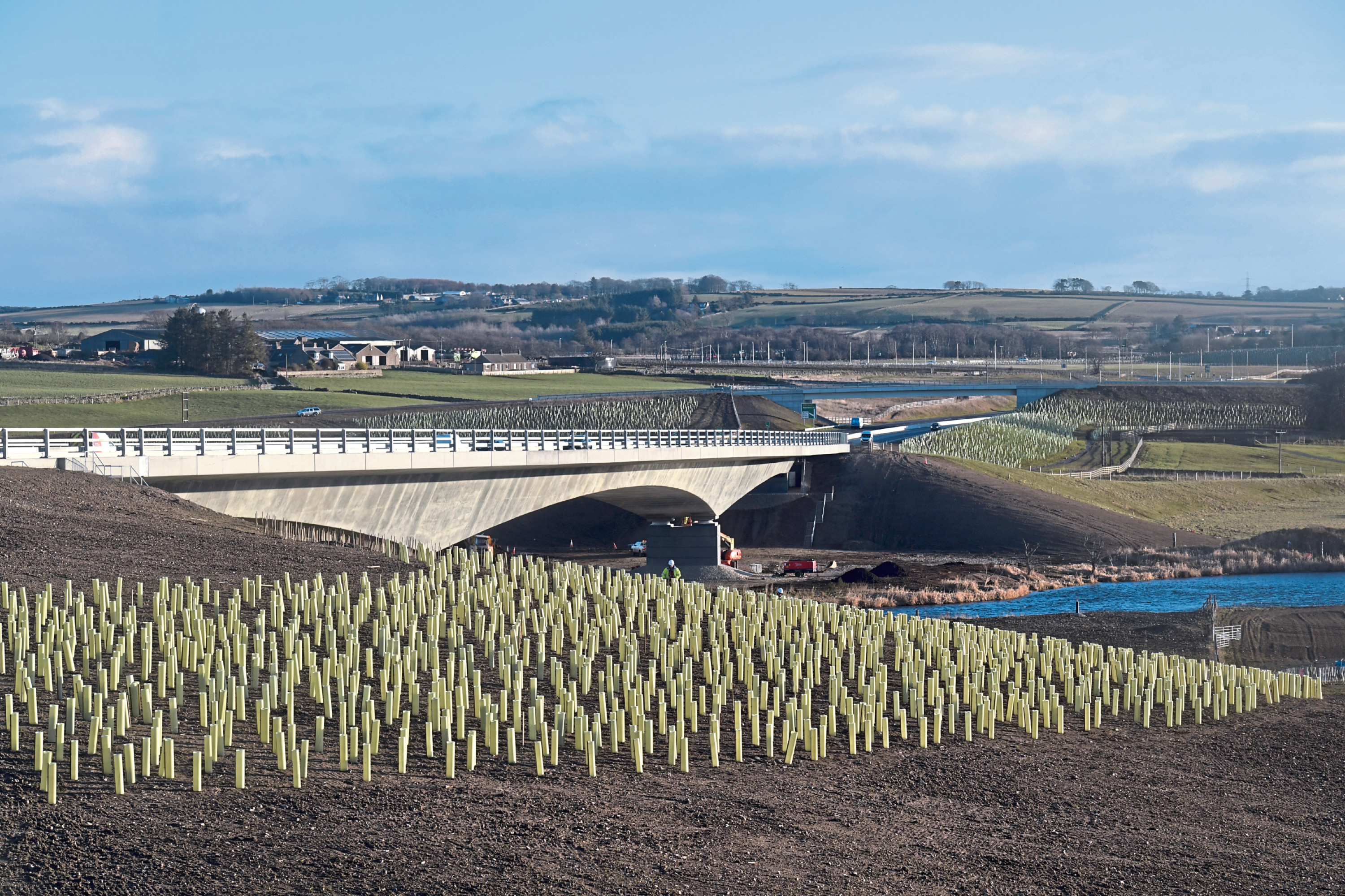 AWPR  Newly open Don Bridge Picture By Kath Flannery 19/02/19