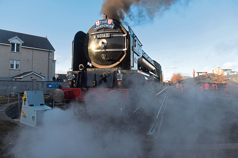 The Aberdonian steam engine