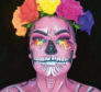 Make-up inspired by Day of the Dead