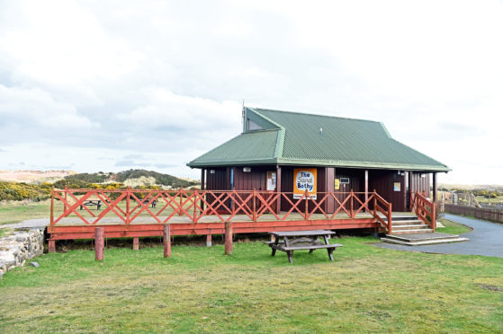 The Sand Bothy at Balmedie