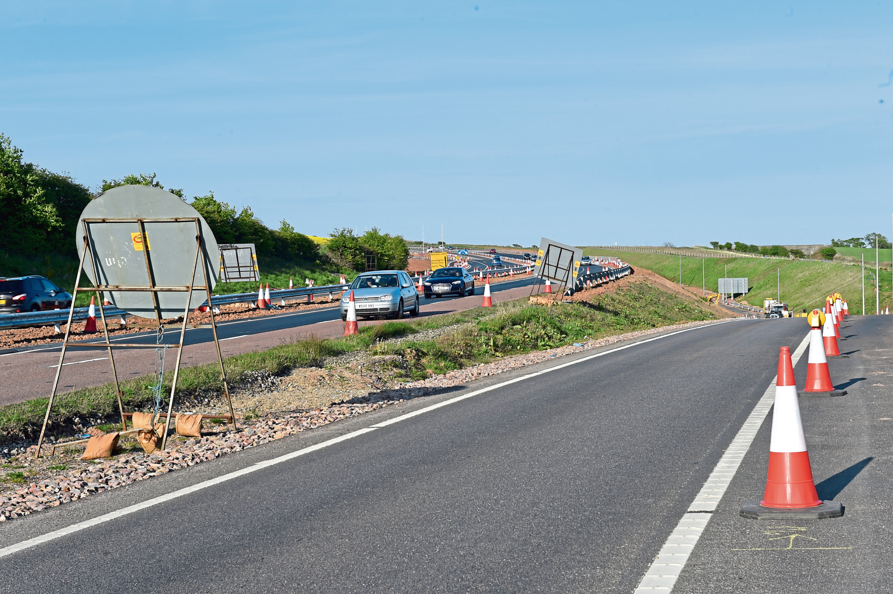 Work on the road at Cowie Bridge, near Stonehaven, is expected to begin on August 10